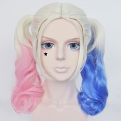 Suicide Squad Harley Quinn Cosplay Wigs New from Batman