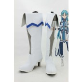 Sword Art Online Asuna Cosplay Boots for Costume