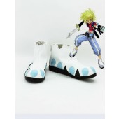 Tales of Destiny 2 Kay Road·Dina Minsi Cosplay Boots Costume from Tales of Destiny 2