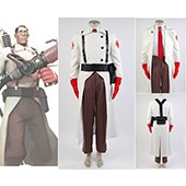 Team Fortress 2 Medic Suit Uniform Game Cosplay Costume from Team Fortress 2