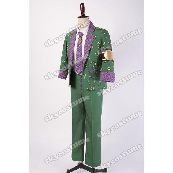 sc 1 st  Skycostume.com & Dr.Edward Nigma Batman: Arkham City The Riddler Outfit Cosplay Costume