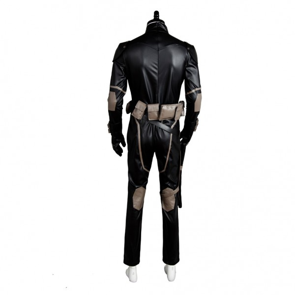 Nightwing Young Justice S2 Uniform Jumpsuit Cosplay ...