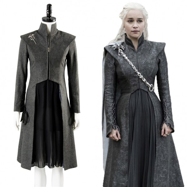 ... Daenerys Targaryen GOT Game of Thrones Season 7 Outfit Cosplay Costume ...  sc 1 st  Skycostume.com & Daenerys Targaryen GOT Game of Thrones Season 7 Outfit Cosplay ...