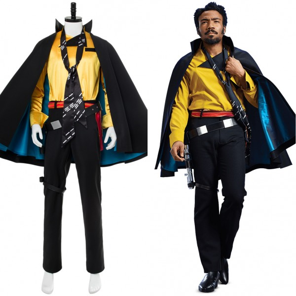 lando calrissian solo a star wars story outfit cosplay costume