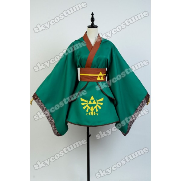 sc 1 st  Skycostume.com & The legend of Zelda Hero Link Cosplay Costume Female Version