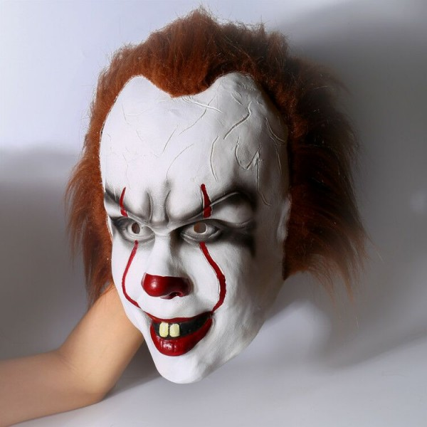 2017 it movie pennywise the clown outfit cosplay costume skycostume. Black Bedroom Furniture Sets. Home Design Ideas