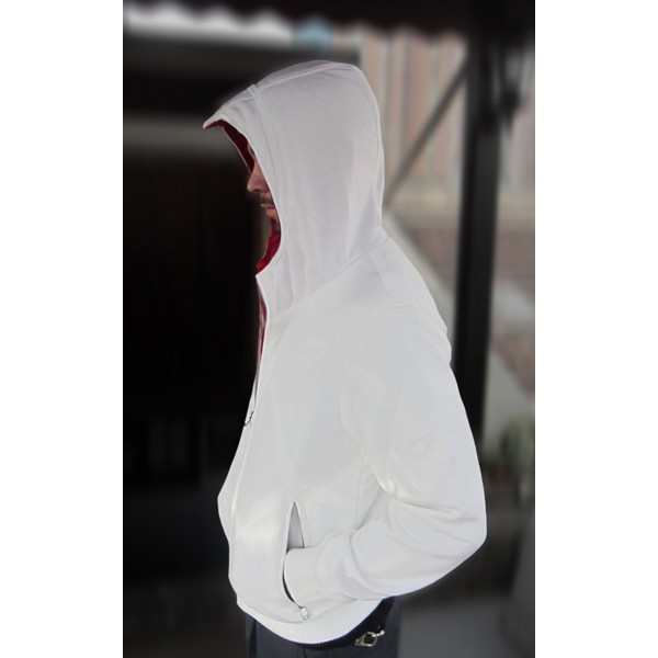 Assassin's Creed Desmond Miles Costume Hoodie Black with Eagle