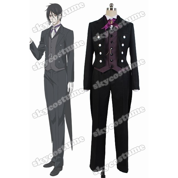 how to make a sebastian michaelis costume
