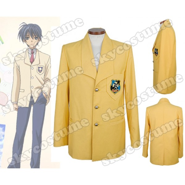 Clannad Cosplay  Clannad_boy_school_uniform_coat_cosplay_costume