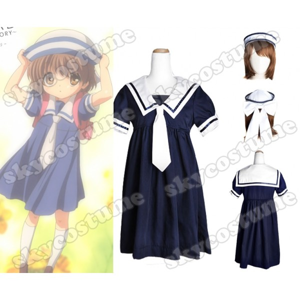 Clannad Cosplay  Clannad_ushio_okazaki_girl_school_uniform_cosplay_costume