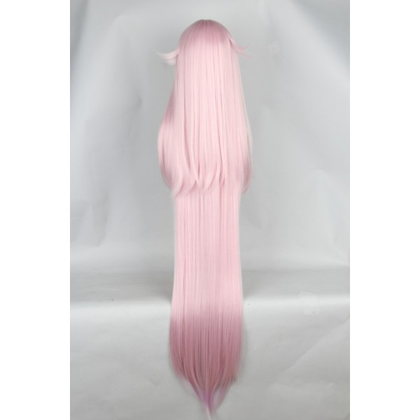 K Neko Super Long Light Pink Anime Cosplay Hair Wigs