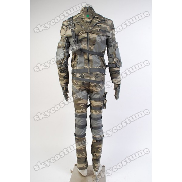 tom clancys splinter cell sam fisher camouflage coat outfit cosplay costume from tom clancys splinter cell - Splinter Cell Halloween Costume
