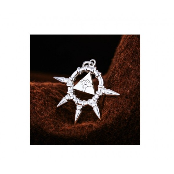 May The 4th Be With You Necklace: Yu-Gi-Oh Pendant Chochma Silver Necklace
