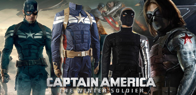 New Captain America Costumes