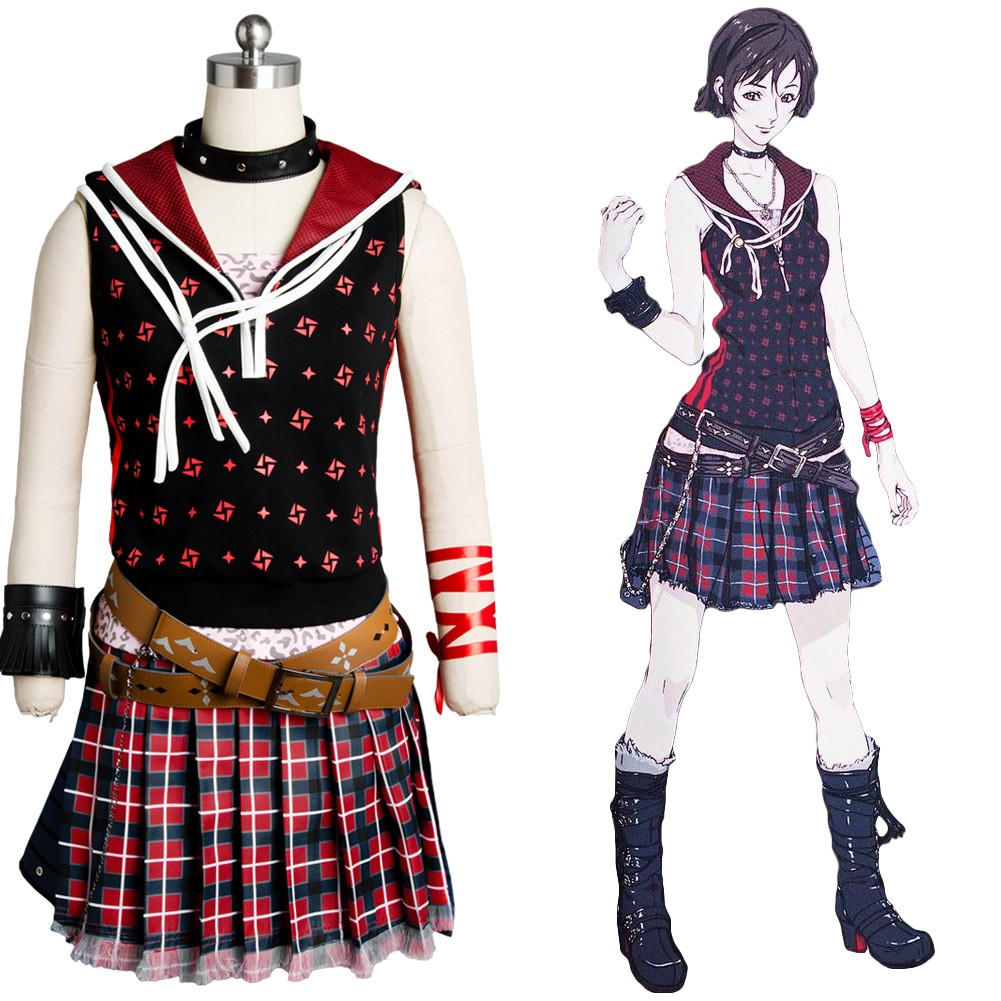 Iris Amicitia Final Fantasy XV FF 15 Dress Outfit Cosplay