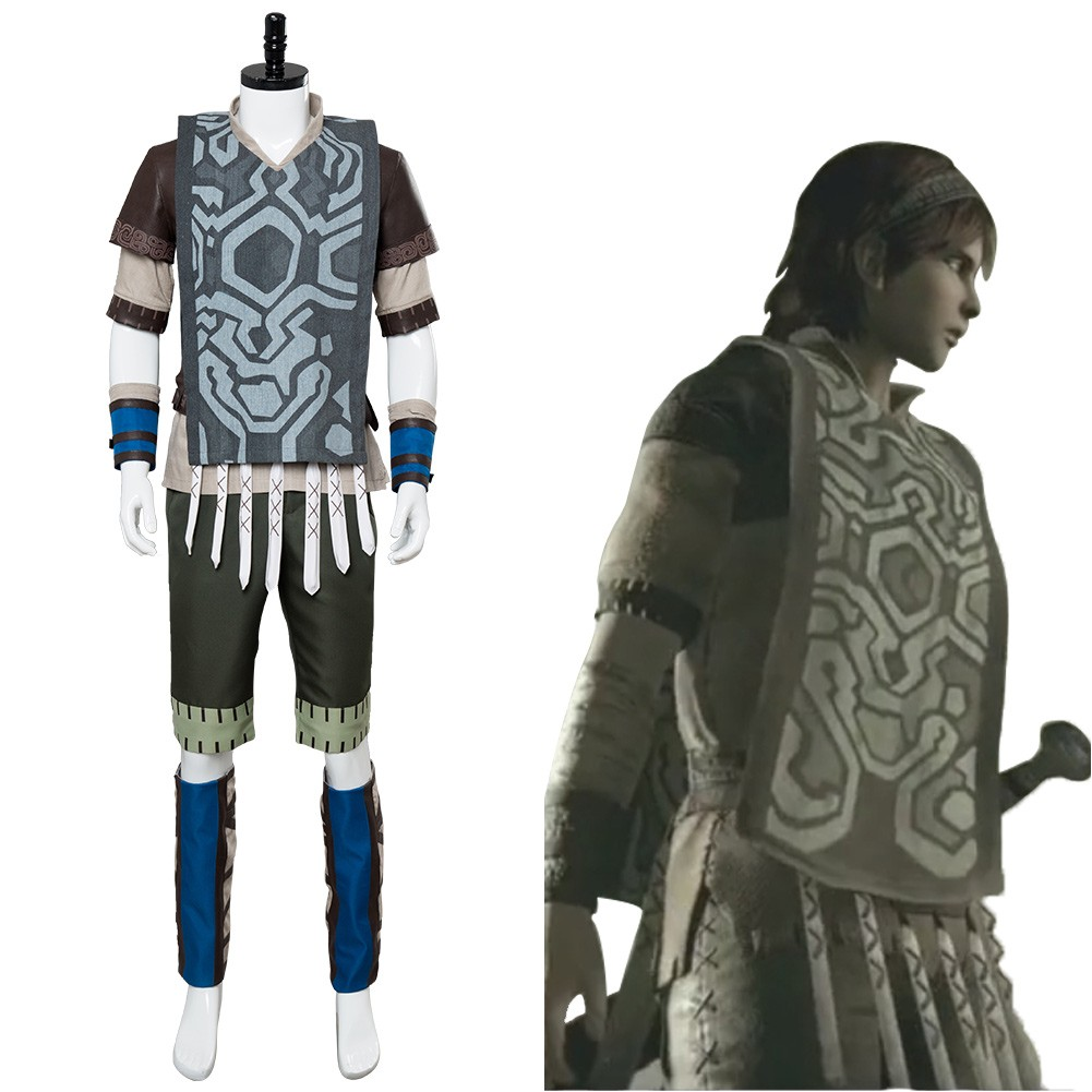 Wander Shadow Of The Colossus Outfit Cosplay Costume Skycostume