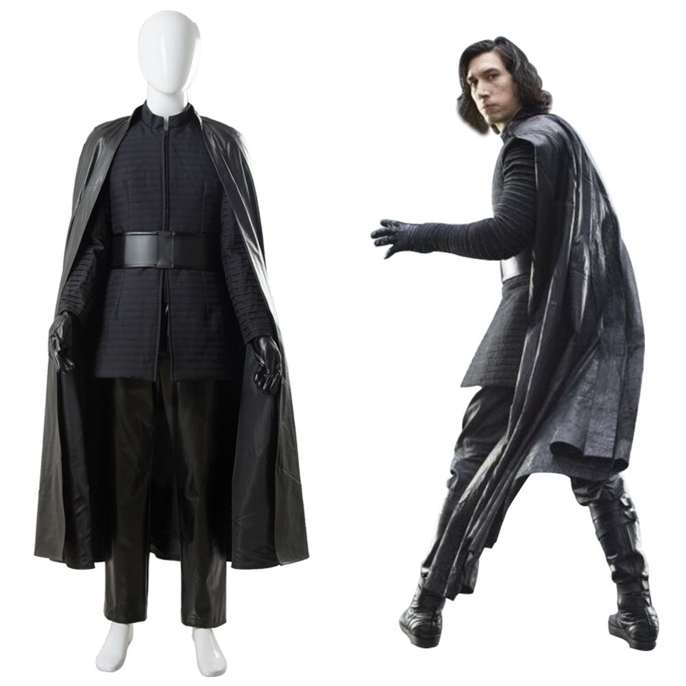 Kylo Ren Star Wars 8 The Last Jedi Outfit Ver 2 Cosplay Costume Skycostume