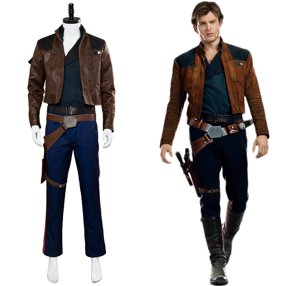 Han Solo Solo: A Star Wars Story Outfit Cosplay Costume ...