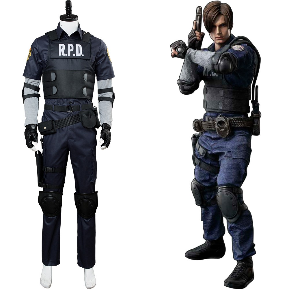 Leon Resident Evil 2 Remake Re Leon Scott Kennedy Cosplay Costume