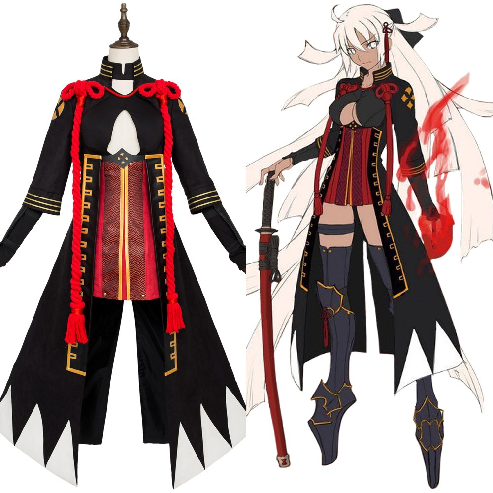 Fate Grand Order Caster Merlin Ambrosius Cosplay Costume Outfit Suit Mantle Coat