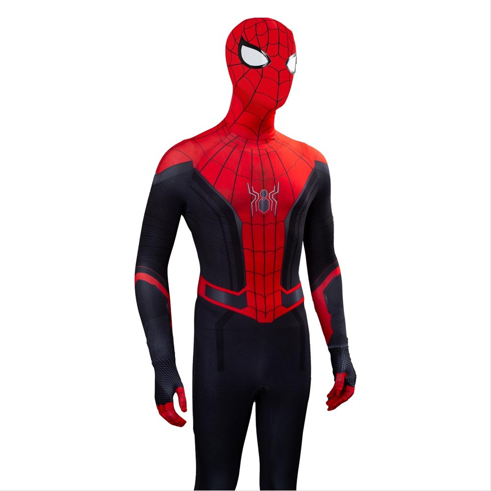 Peter Parker 2019 Spider Man Far From Home Spiderman Body Ver B Suit Outfit Cosplay Costume