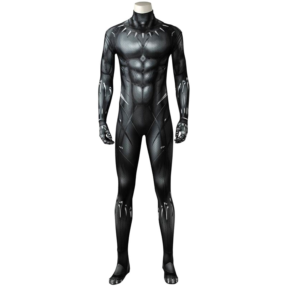Black Panther 2018 Movie T Challa 3d Printed Cosplay Costume