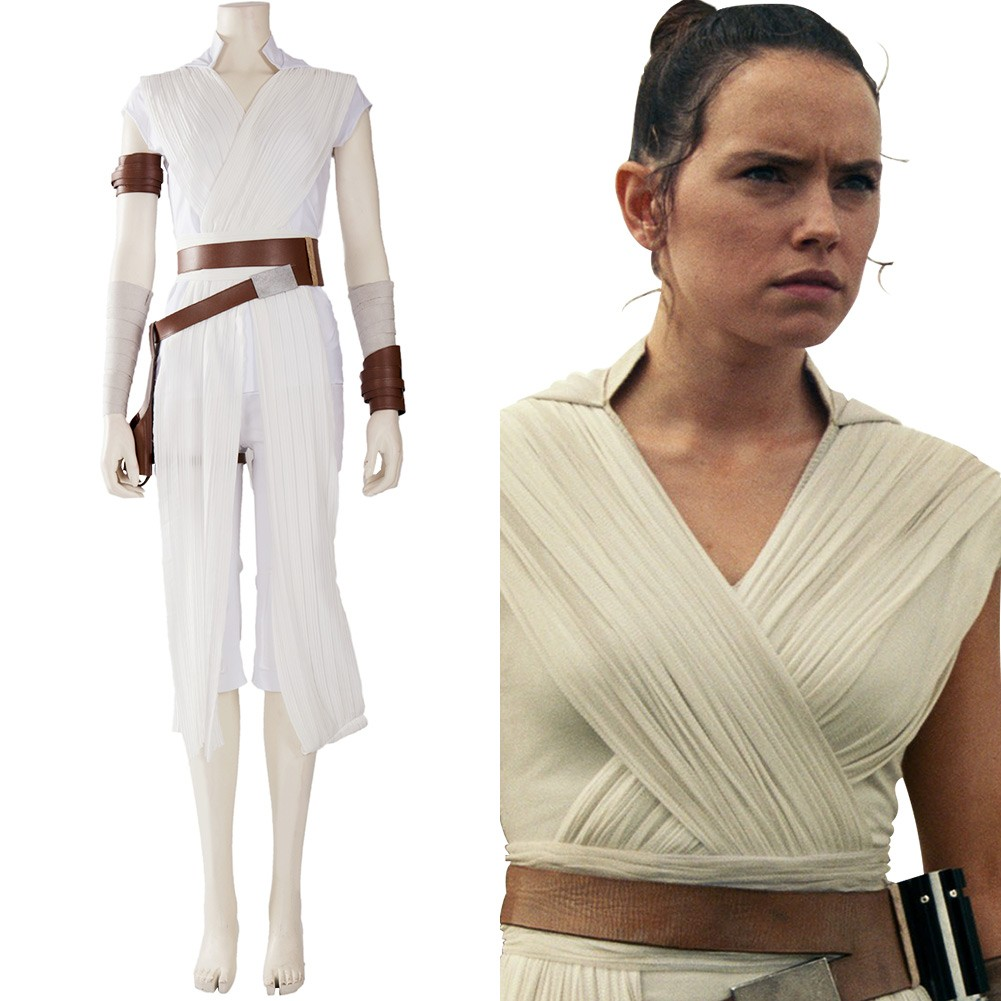 Rey Star Wars The Rise Of Skywalker Star Wars 9 Cosplay Costume Skycostume