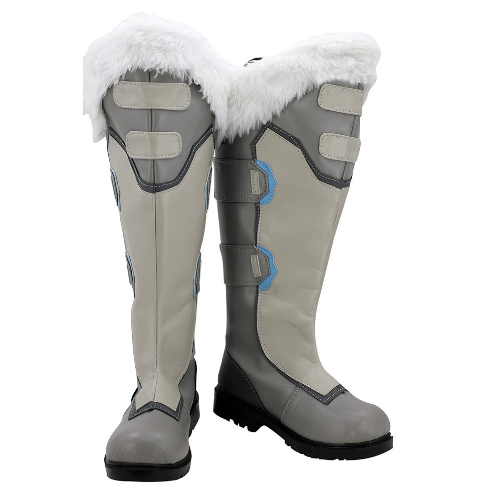 Mei Overwatch Ow Boots Cosplay Shoes Boots