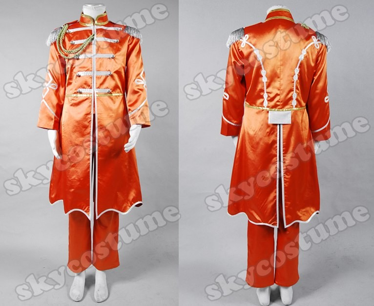 Die Beatles Sgt Peppers Lonely Hearts Show Club Band Cosplay Outfit Kostüm