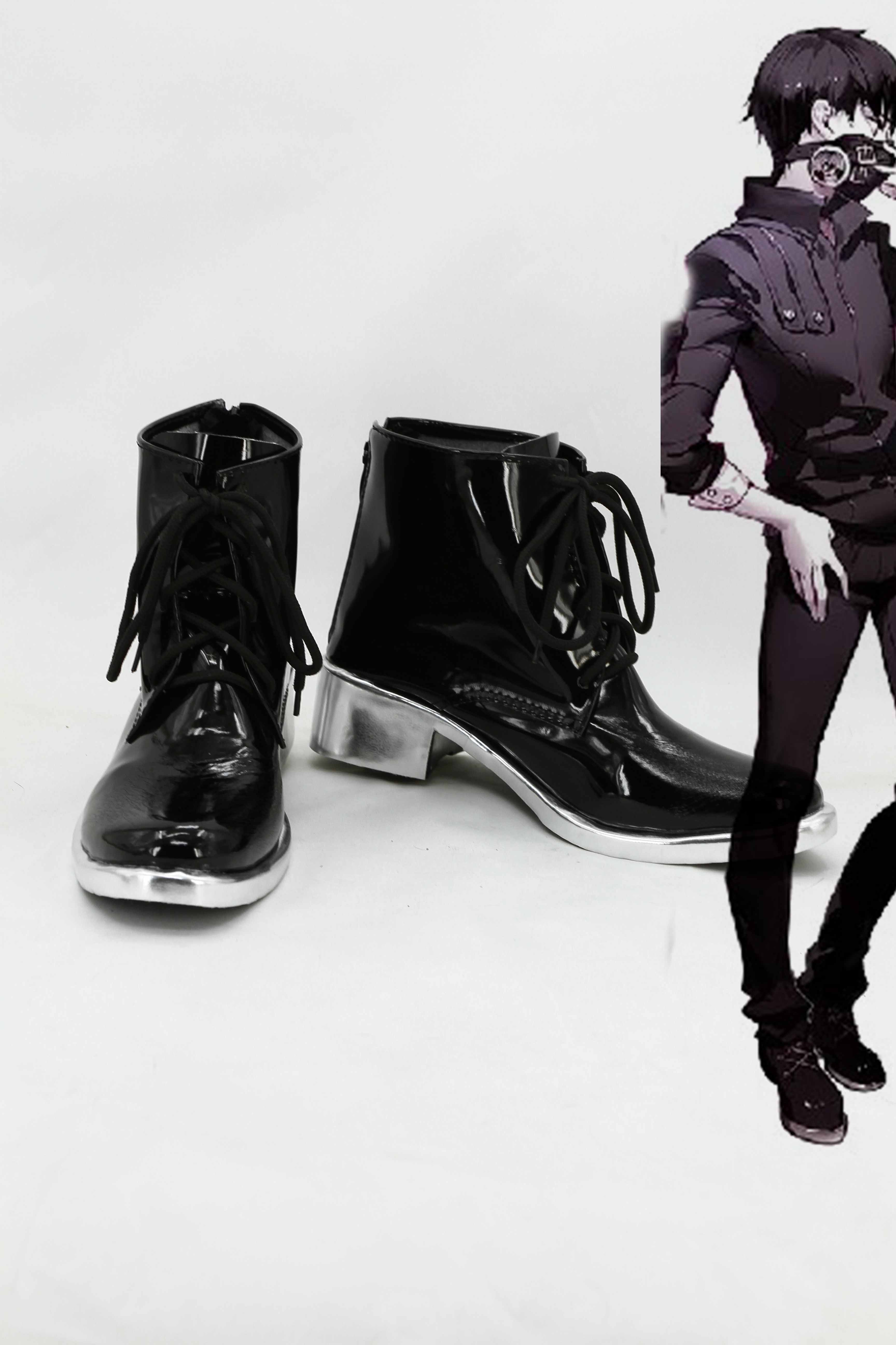 Tokyo Ghoul Kaneki Ken Cosplay Boots For Costume From Tokyo Ghoul