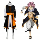 Natsu Dragneel Fairy Tail 3 Natsu Cosplay Costume from Fairy Tail