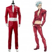 Ban The Seven Deadly Sins: Wrath of the Gods Cosplay Costume