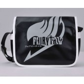 Fairy Tail Logo Shoulder Messenger Black Bag from Fairy Tail