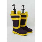 Fairy tail Natsu Cosplay Boots Costume from Fairy tail