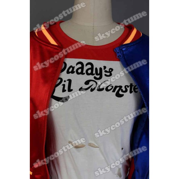 9fd68ce81ee076 ... DC Comics Suicide Squad Harley Quinn Cosplay Costume from Comics Suicide  ...