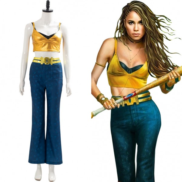 Black Canary 2020 Birds Of Prey Dinah Laurel Lance Outfit Cosplay Costume Skycostume