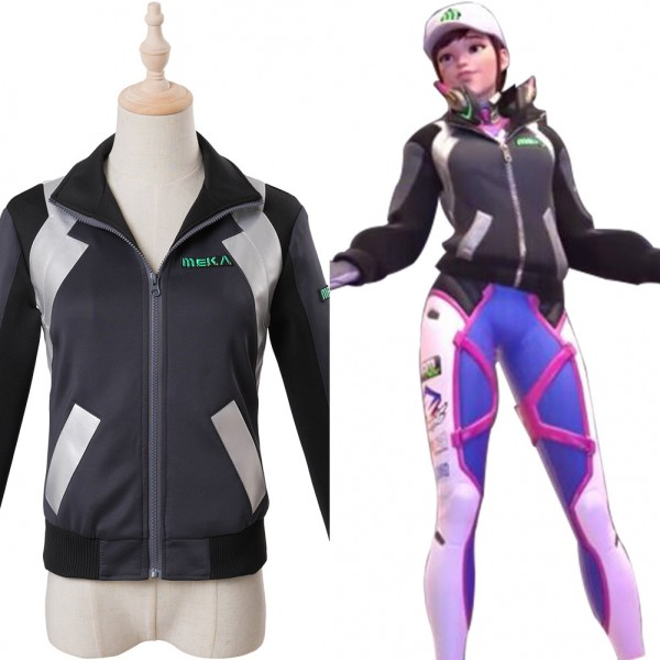 3c2ce5106c4 D.Va Overwatch Hana Song Shooting Star DVA Cosplay Costume - Skycostume