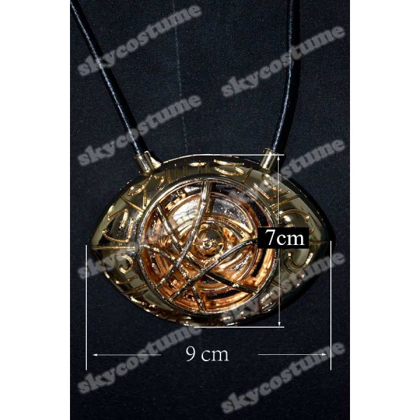 Doctor Strange Dr Stephen Eye of Agamotto Amulet Pendant