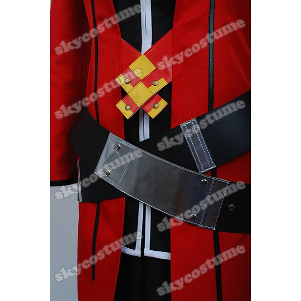 BlazBlue Calamity Trigger Ragna the Bloodedge suit uniform