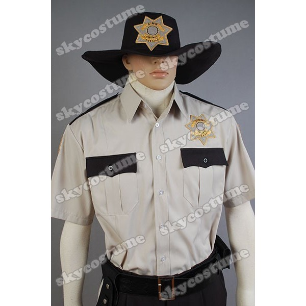 the walking dead sheriff rick grimes zombie adult